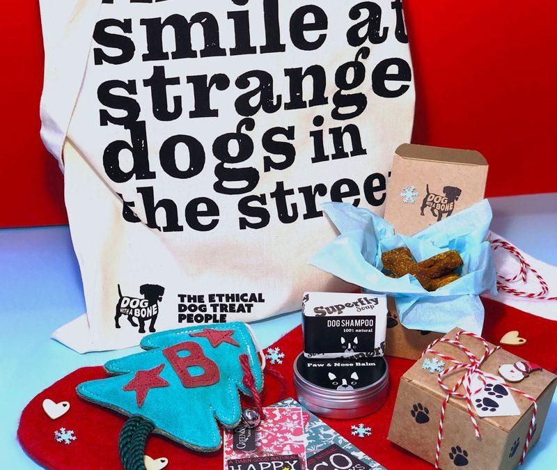 deluxe Christmas dog box